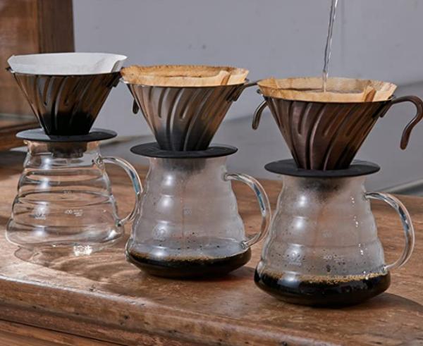 Hario V60 02 Metal Coffee Dripper Matte Black_1 Ashcoffee