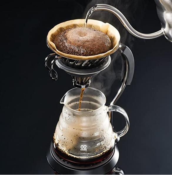 Hario V60 02 Metal Coffee Dripper Matte Black_2 Ashcoffee