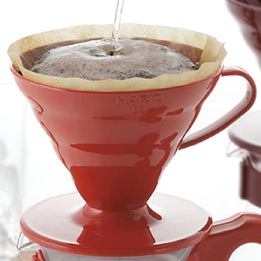 Hario V60 Coffee Dripper 02 Red (PP)_1 Ashcoffee