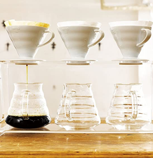 Hario V60 Coffee Dripper 02 White (PP)_2 Ashcoffee