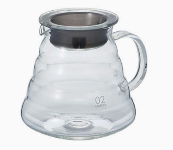 Hario V60 Coffee Server 600 ml Glass_1 Ashcoffee