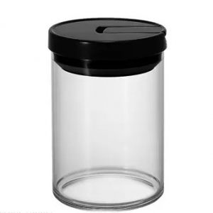 Hario Coffee Canister - Black_1 Ashcoffee