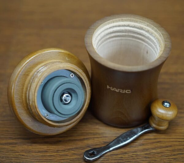 Hario Coffee Mill Dome 3 cups_2 Ashcoffee