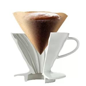 Hario Filter Paper 03 - White 100 pc_2 Ashcoffee