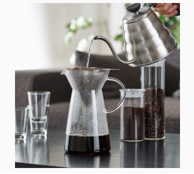 Hario Hot Brew Metal Drip decanter 700 ml_4 Ashcoffee