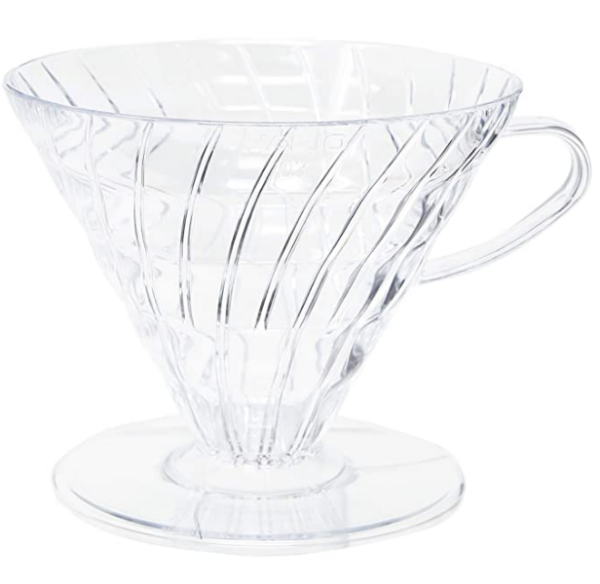 Hario V60 03 Coffee Dripper Clear Plastic_1 Ashcoffee