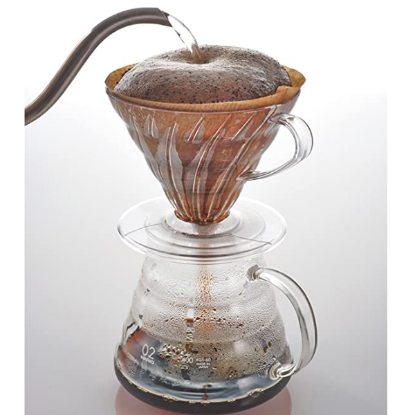Hario V60 03 Coffee Dripper Clear Plastic_3 Ashcoffee