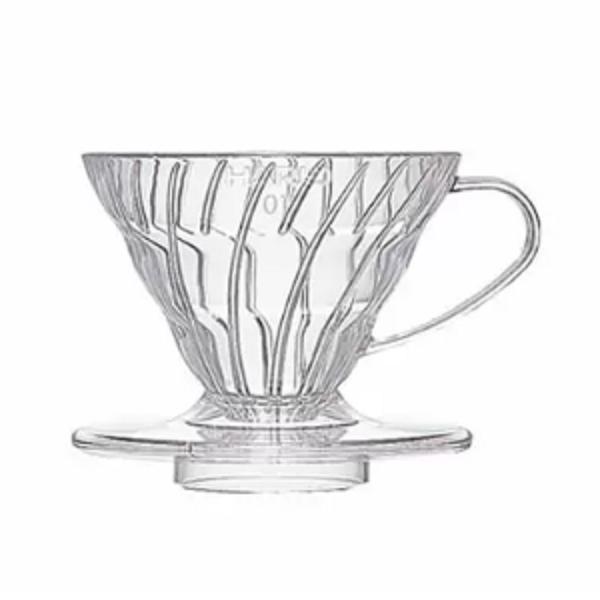 Hario V60 Coffee Dripper 2 Cups Clear_1 Ashcoffee