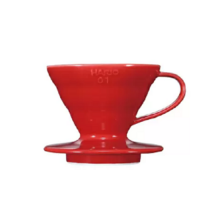 Hario V60 Coffee Dripper Ceramic Red_1 Ashcoffee