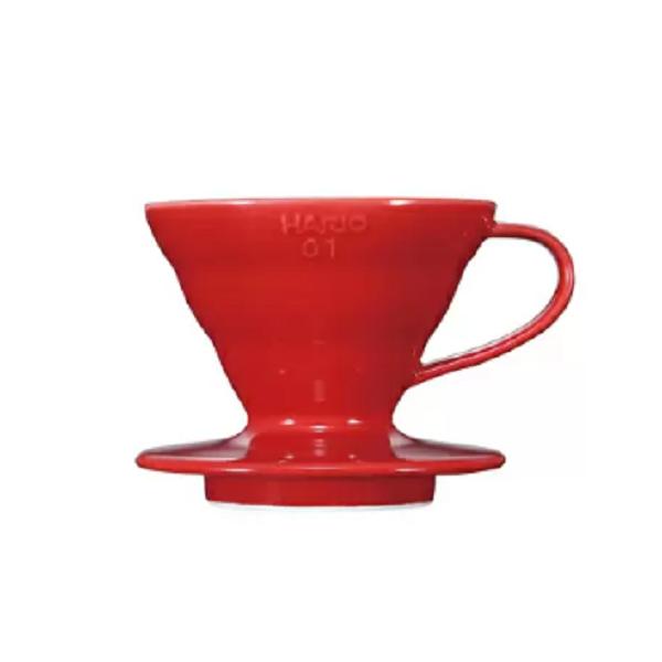 Hario V60 Coffee Dripper Ceramic Red_1 Ashcoffee