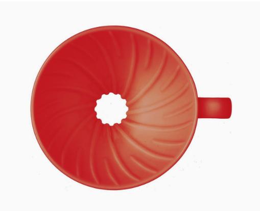 Hario V60 Coffee Dripper Ceramic Red_3 Ashcoffee