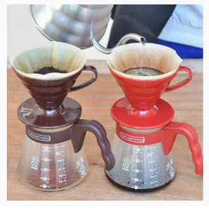 Hario V60 Coffee Server 02 Set Chocolate Brown_2 Ashcoffee