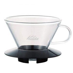 KAlita Glass Wave Dripper 185 (Black)_1 Ashcoffee