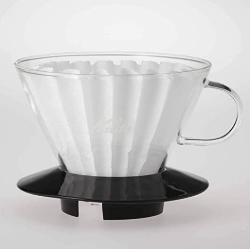 KAlita Glass Wave Dripper 185 (Black)_2 Ashcoffee