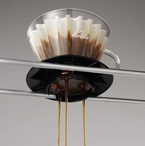 KAlita Glass Wave Dripper 185 (Black)_3 Ashcoffee