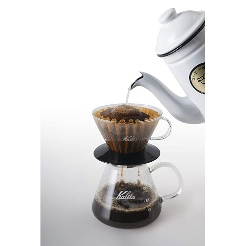KAlita Glass Wave Dripper 185 (Black)_4 Ashcoffee