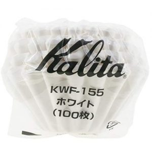 Kalita Wave Filter KWF-155 (100P) WHITE_2 Ashcoffee